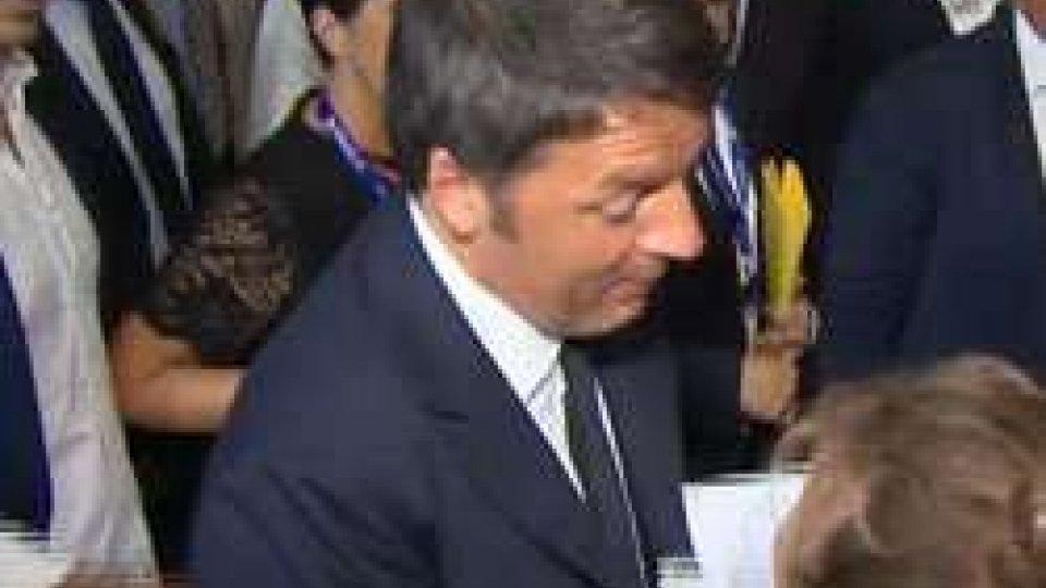 Meeting, Renzi incontra Valentini