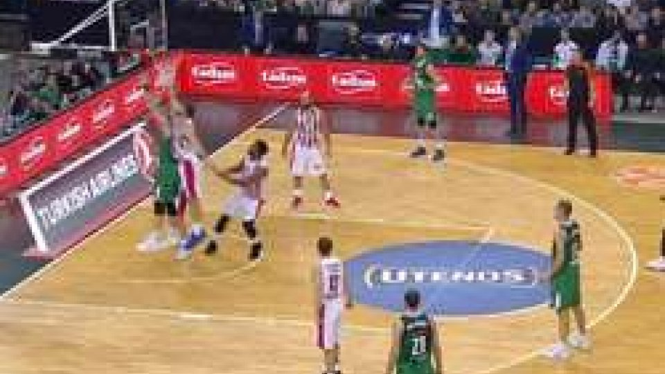 Eurolega: lo Zalgiris batte la capolista Olympiacos