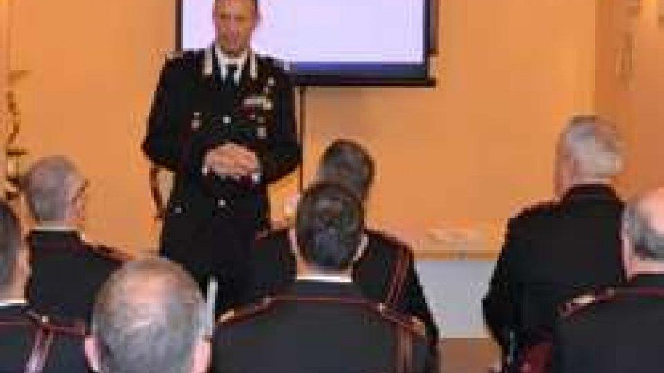"""Il Comandante della Legione Carabinieri """"Emilia Romagna"""", Adolfo Fischione, visita la Compagnia Carabinieri di Novafeltria"""