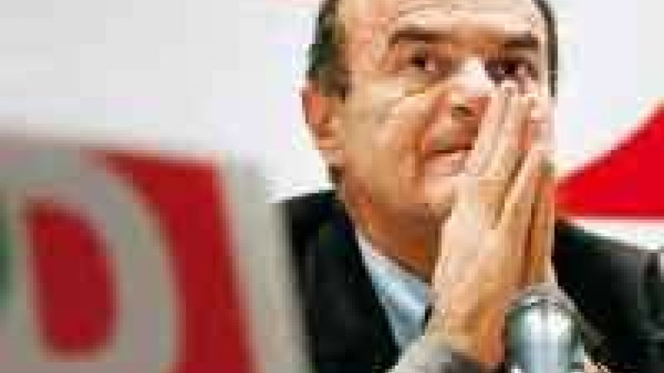Pier Luigi Bersani a Santarcangelo