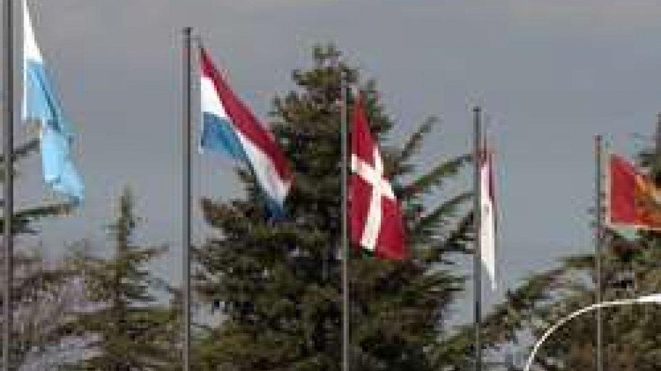 Le bandiere dei Piccoli Stati al Kursaal