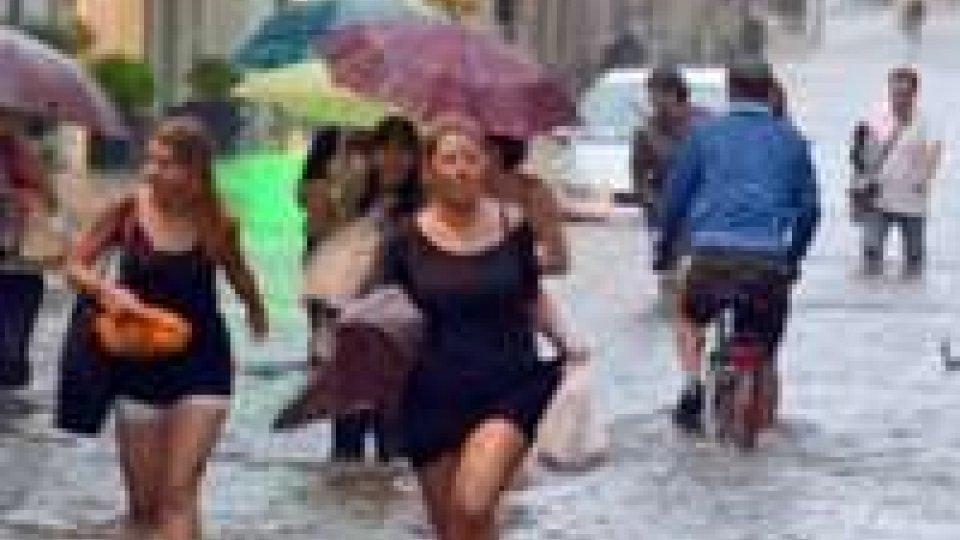 Rimini, non si contano i danni del maltempo