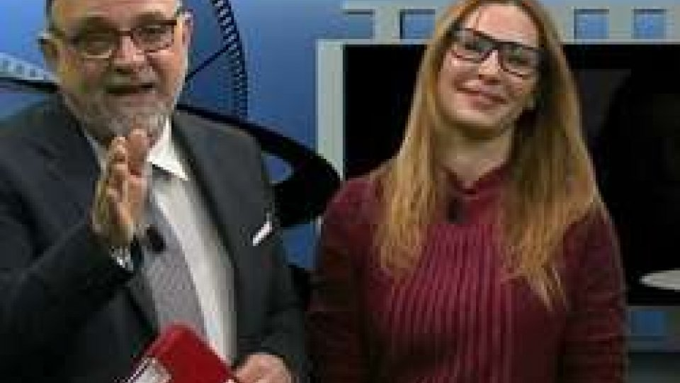 Francesco Zingrillo e Monica Fabbrila VII Arte in TV anche nel 2017 con AL CINEMA puntata N°11