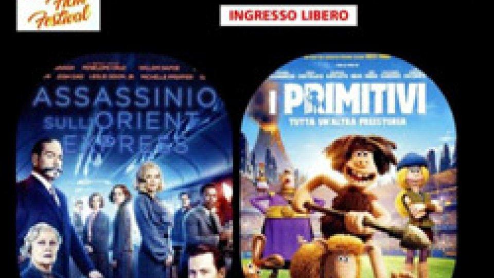 ASSASSINIO SULL'ORIENT EXPRESS e PRIMITIVI SABATO 21 luglio al CINEFORUM FILM FESTIVAL