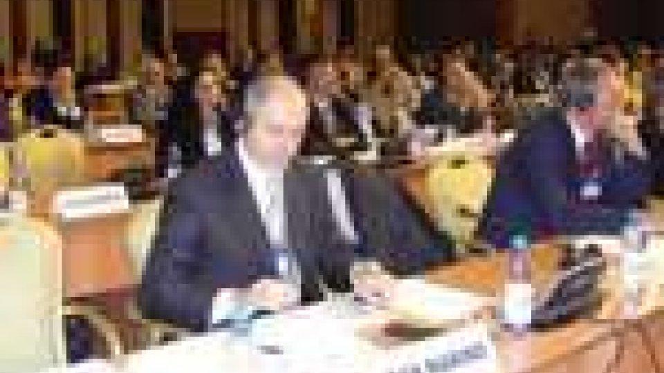 Berardi in Kazakistan all'assemblea OMT