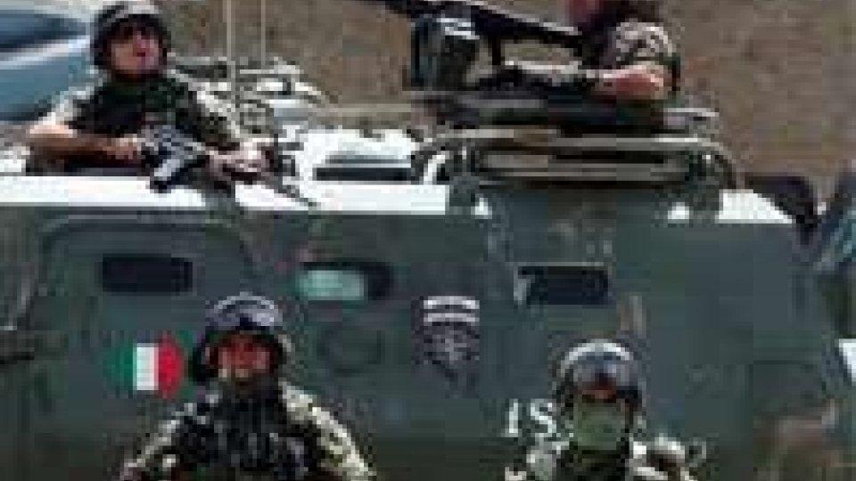 Afghanistan: a giorni 300 militari italiani a casa
