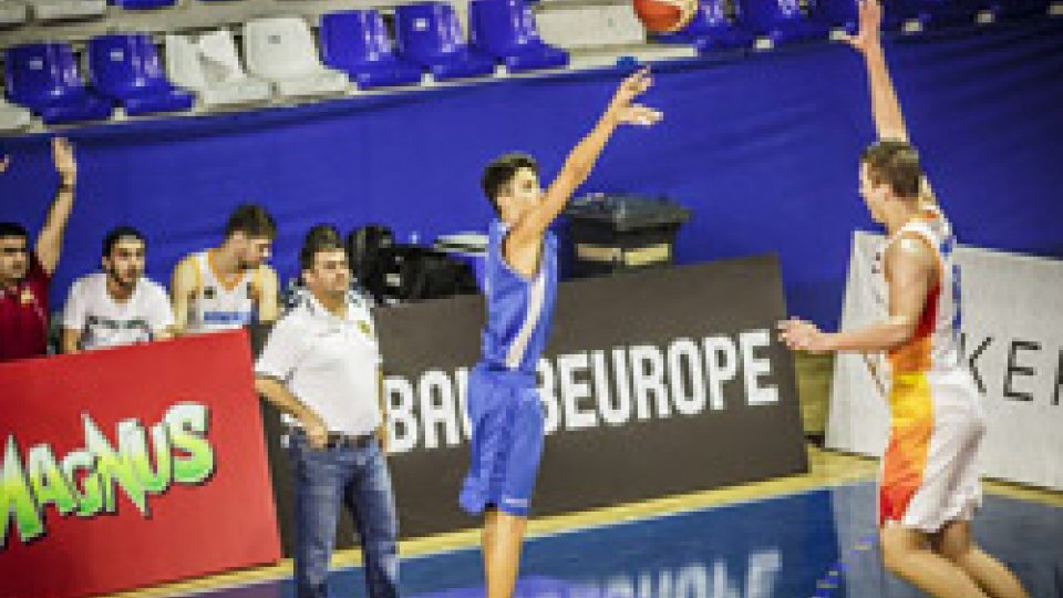 FSP - Europei U18: San Marino, reazione perfetta