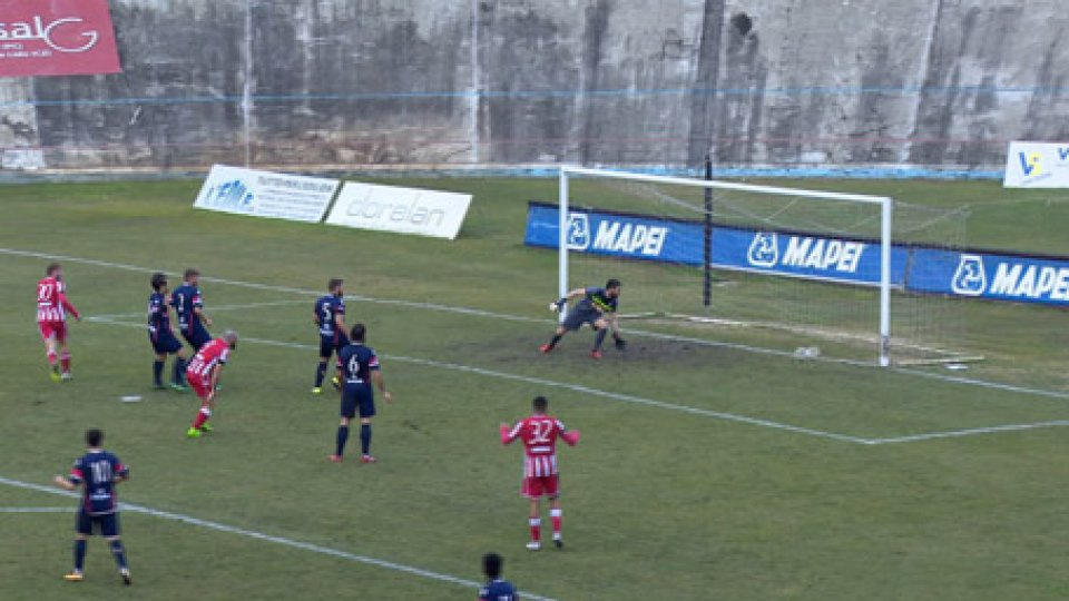 Forlì - Vastese 1-1Forlì - Vastese 1-1
