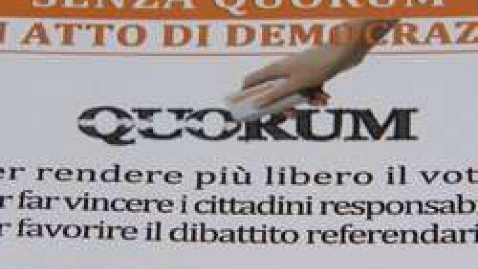 """Comitato per l'abolizione del quorum: """"dire sì per fare vincere i cittadini responsabili"""""""