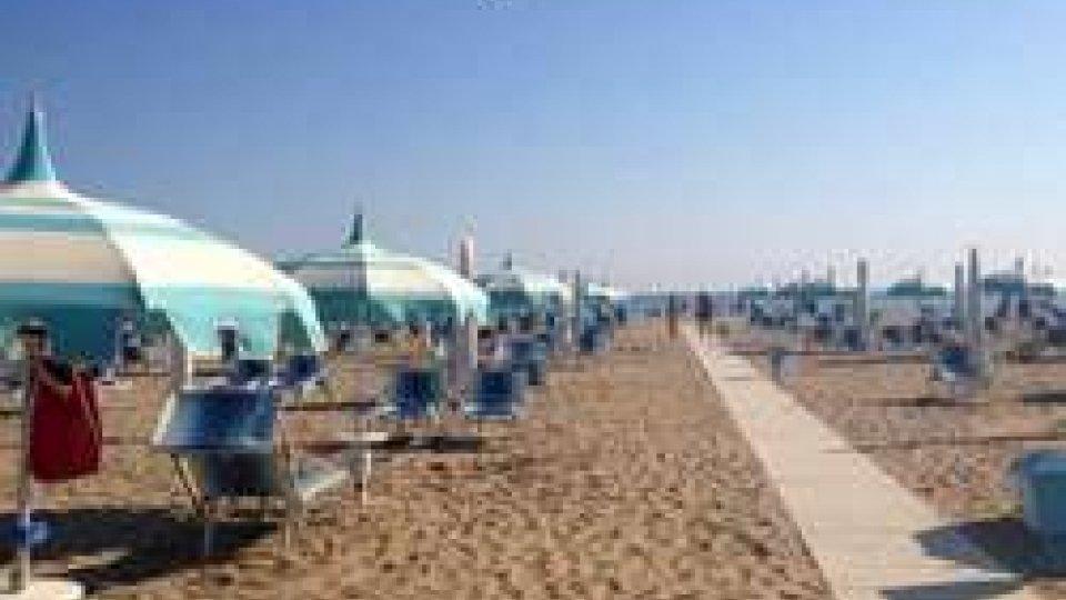 La spiaggia riminese