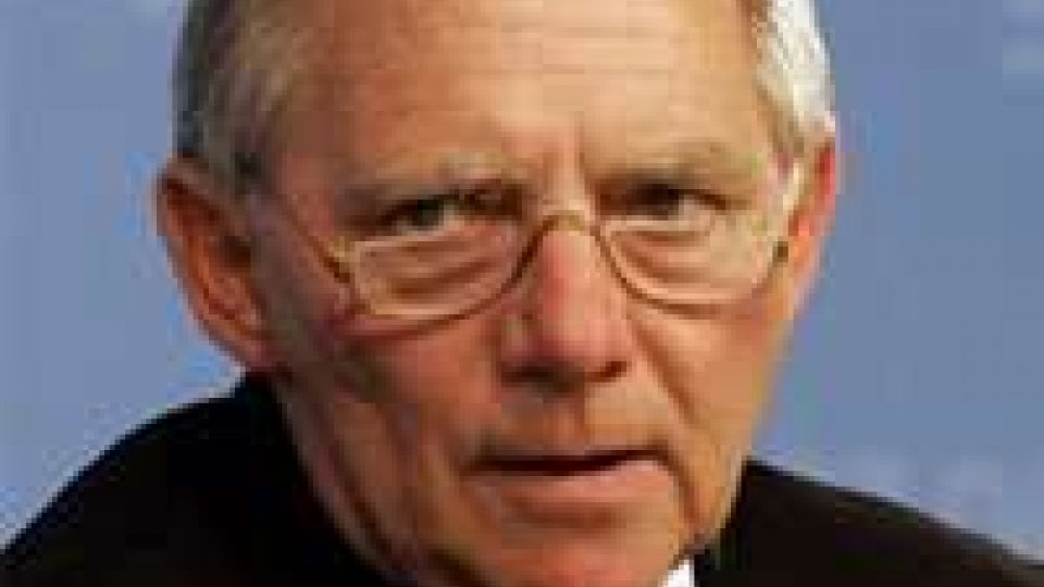 UE, Schauble: elezione diretta del presidente dal 2014
