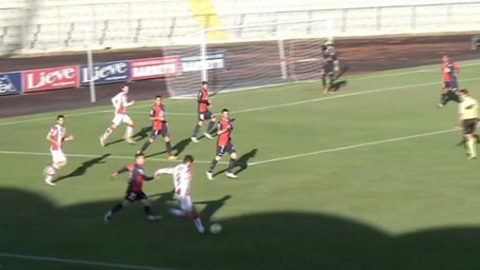 Gubbio-VicenzaSerie C: bella vittoria del Gubbio con il Vicenza