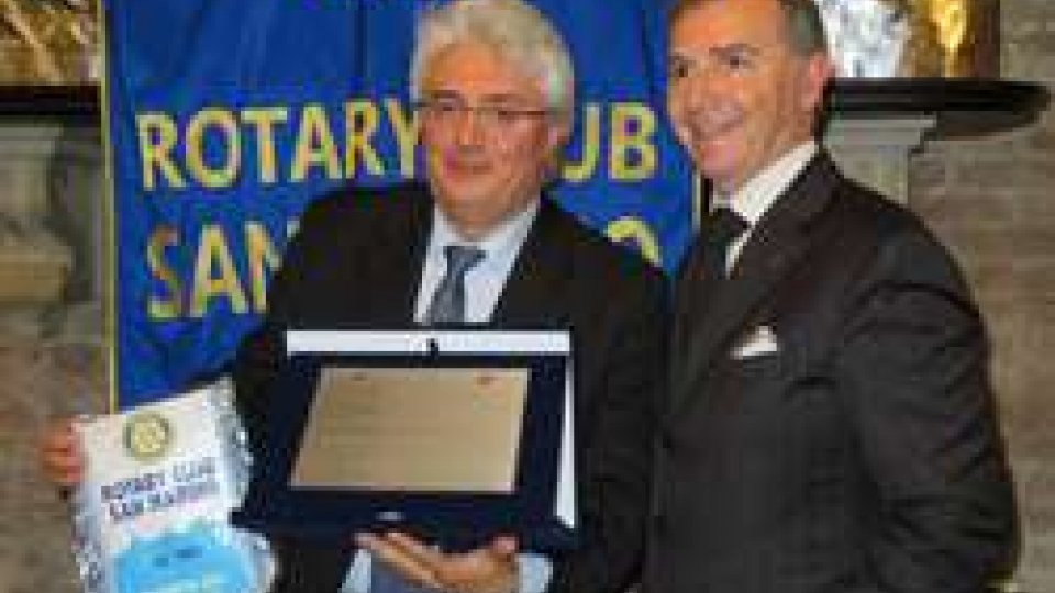 Il Rotary premia il Maestro Giacomini