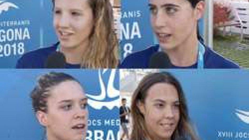 """Le ragazze del NuotoLe ragazze del Nuoto: """"Un'esperienza fantastica"""""""