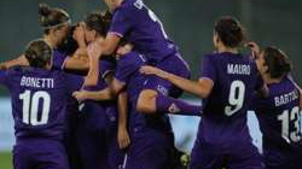 Femminile: la Coppa Italia alla FiorentinaFemminile: la Coppa Italia alla Fiorentina