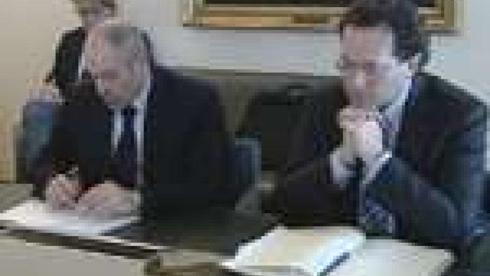 Sessione consiliare dedicata al rapporto con l'Italia
