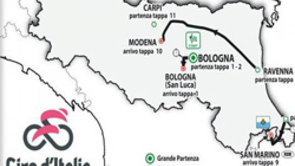 Il Giro d'Italia torna a San MarinoIl Giro d'Italia torna a San Marino