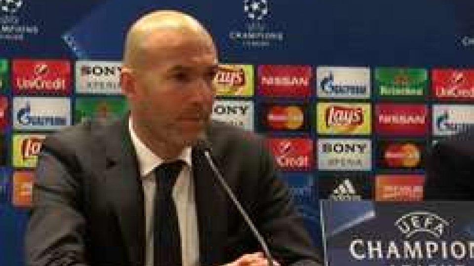 Zinedine ZidaneUna buona Roma non basta, il Real passa due volte