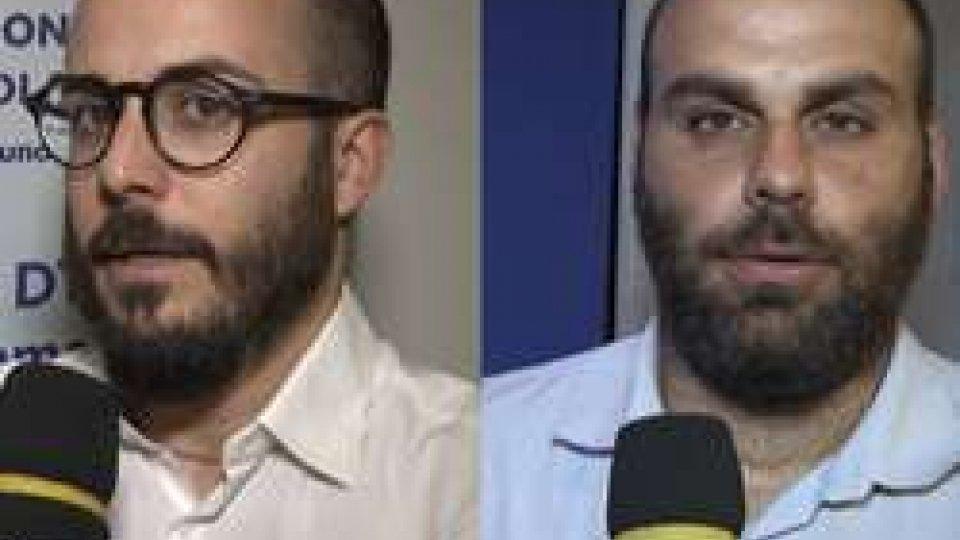 Alan Gasperoni e Aster CasaliSorteggio Coppe Europee: le reazioni di Alan Gasperoni e Aster Casali