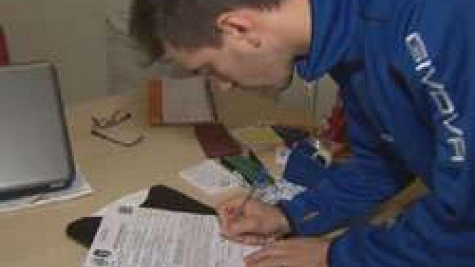 Brenton Tola firma per il San MarinoSan Marino presenta i nuovi acquisti