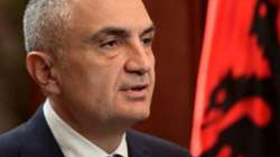 Visita di Stato del Presidente della Repubblica d'Albania, SE Ilir Meta
