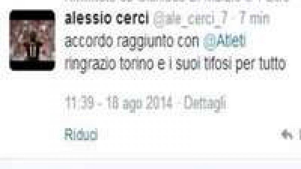 Torino: Cerci all'Atletico Madrid! Ma il messaggio è falso