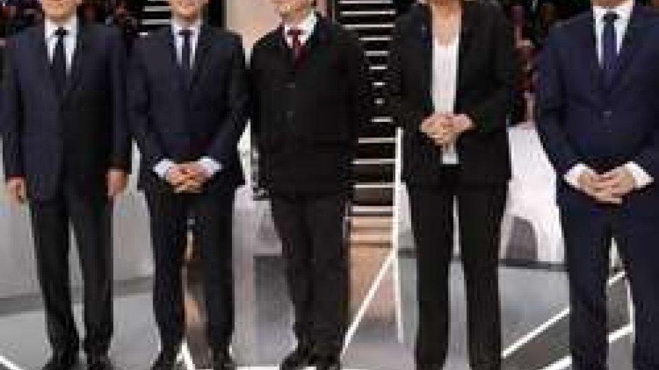 Il primo dibattito televisivo per la corsa alla Presidenza francese