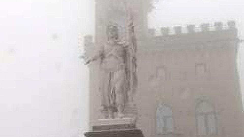 Palazzo Pubblico sotto la neve