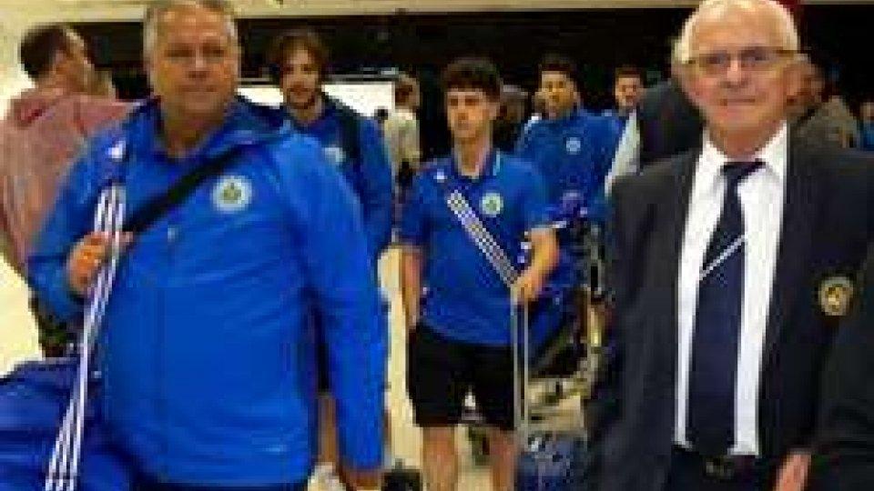 L'arrivo della San Marino NATCoppa delle Regioni, la San Marino NAT è arrivata in Rep Ceca