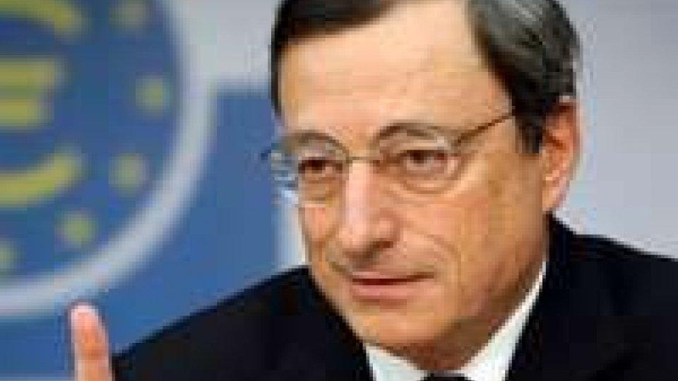 """Mario Draghi: """"Ripresa graduale nel 2013"""""""
