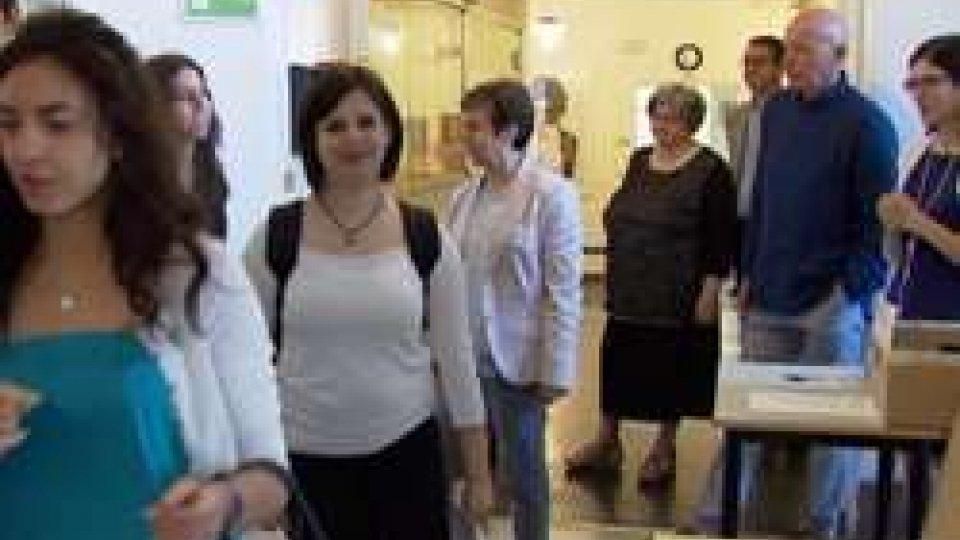 L'ingresso degli studenti