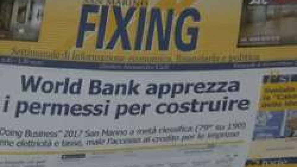 FixingDoing Bussiness: San Marino a metà classifica