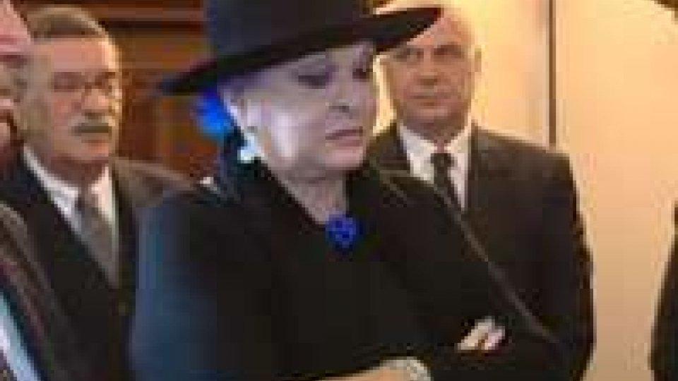 Lucia Bosè in udienza dai Capi di Stato