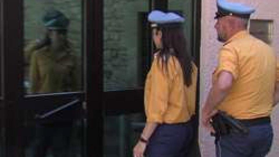 La Polizia Civile al carcere dei Cappuccini (archivio)