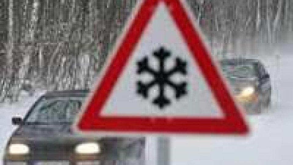Maltempo: arrivano gelo e neve, tracollo delle temperature