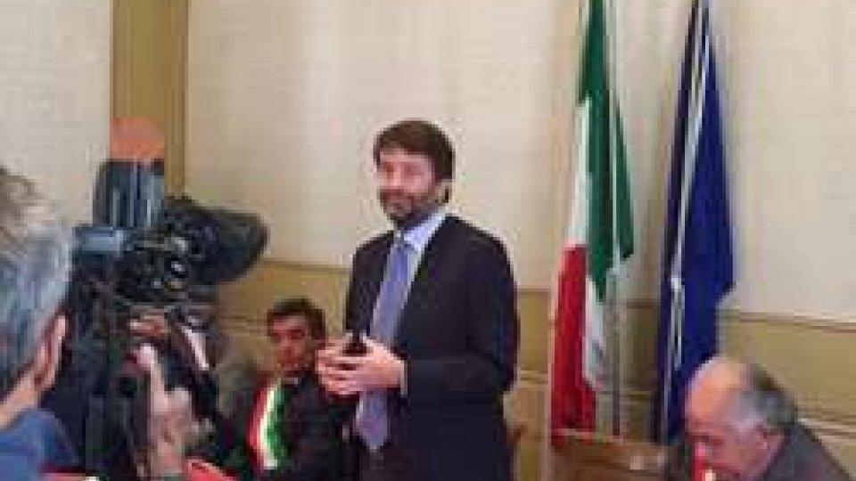 Ministro Franceschini a Urbino