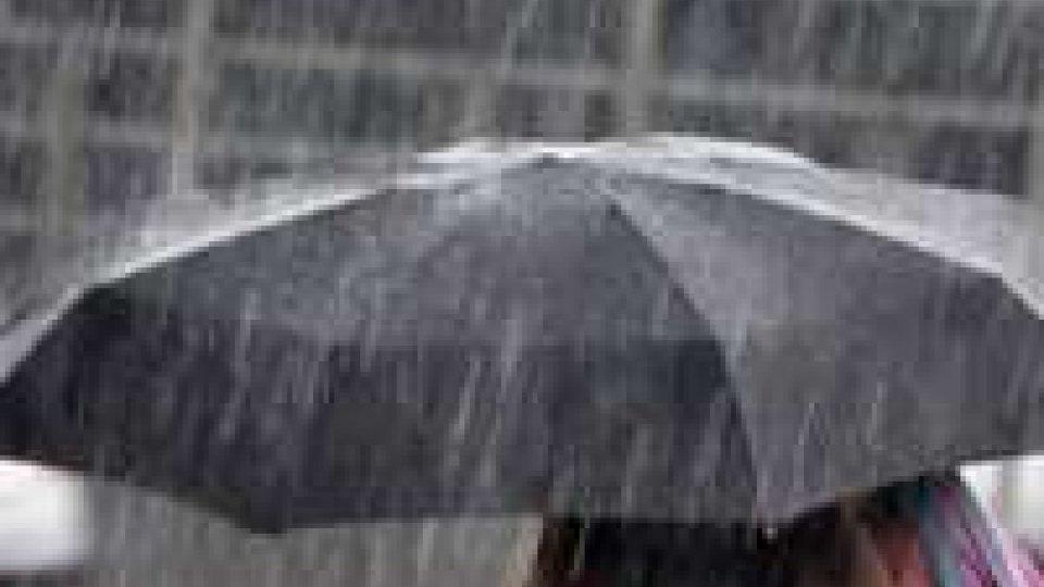 Allerta piogge sull'Emilia Romagna