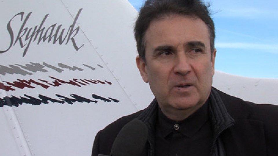 Mago GabrielMago Gabriel: all'aero club di Torraccia la smaterializzazione terra-aria