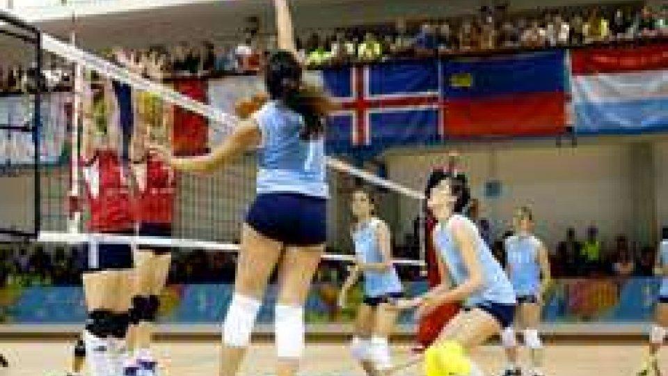 Volley donne: l'Islanda al tie-break contro San Marino