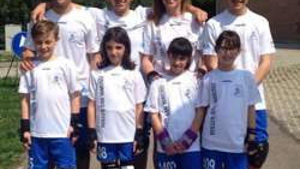 Pattinaggio: 17 medaglie per 8 atleti al Campionato Regionale UISP