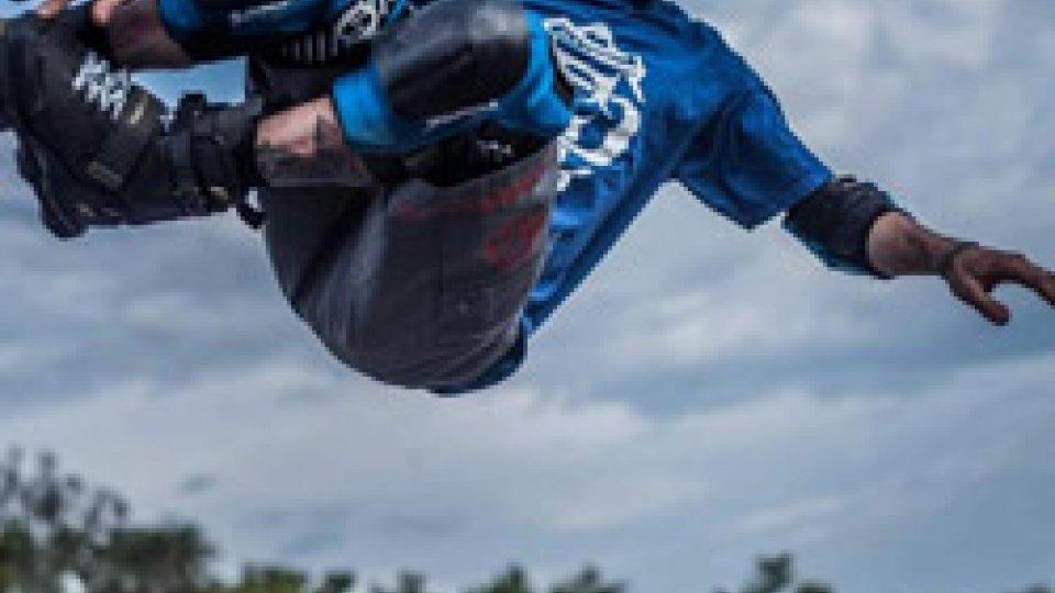Pattinaggio: Davide Giannoni è tornato a volare. Il pattinatore sammarinese ha conquistato ottimi e piazzamenti in Germania e Inghilterra