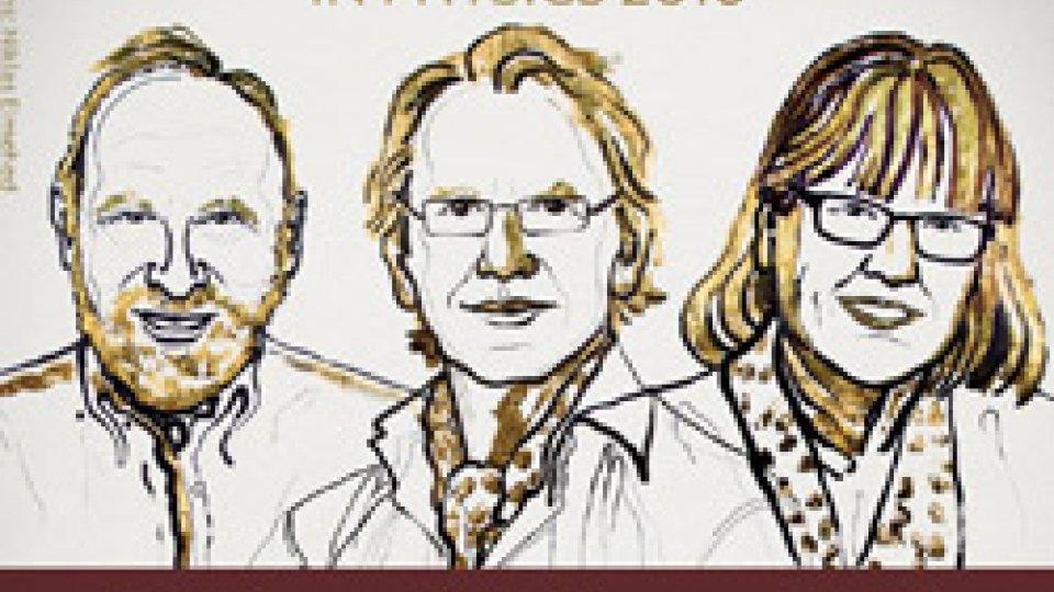 Arthur Ashkin, Gerald Gérard Mourou e Donna Strickland
