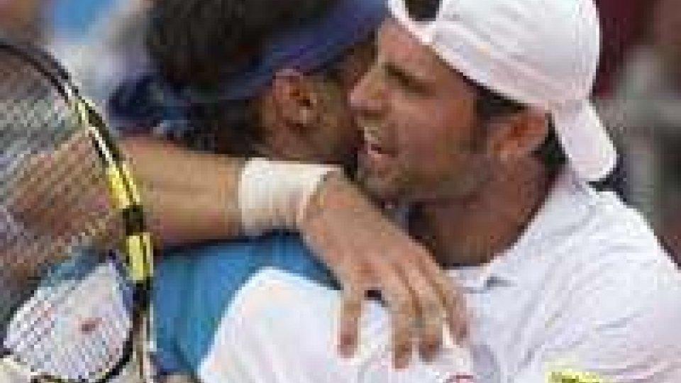 Tennis: Davis Cup, Argentina-Italia 1-2