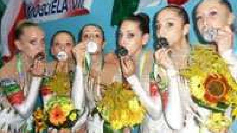 Ritmica: Italia vice campione d'Europa
