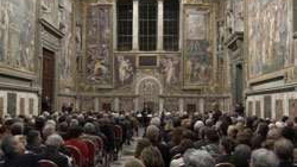 La nuova vita della Cappella Sistina: i moderni impianti superano l'esame dell'estate più torridaLa nuova vita della Cappella Sistina: i moderni impianti superano l'esame dell'estate più torrida