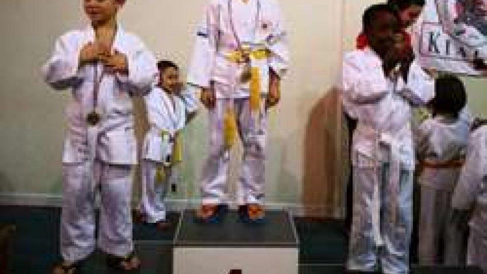 19 Atleti della Sakura Judo San Marino A Riccione