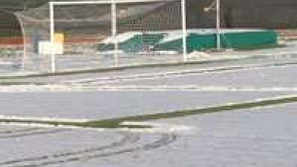 Renate - Santarcangelo rinviata per neve