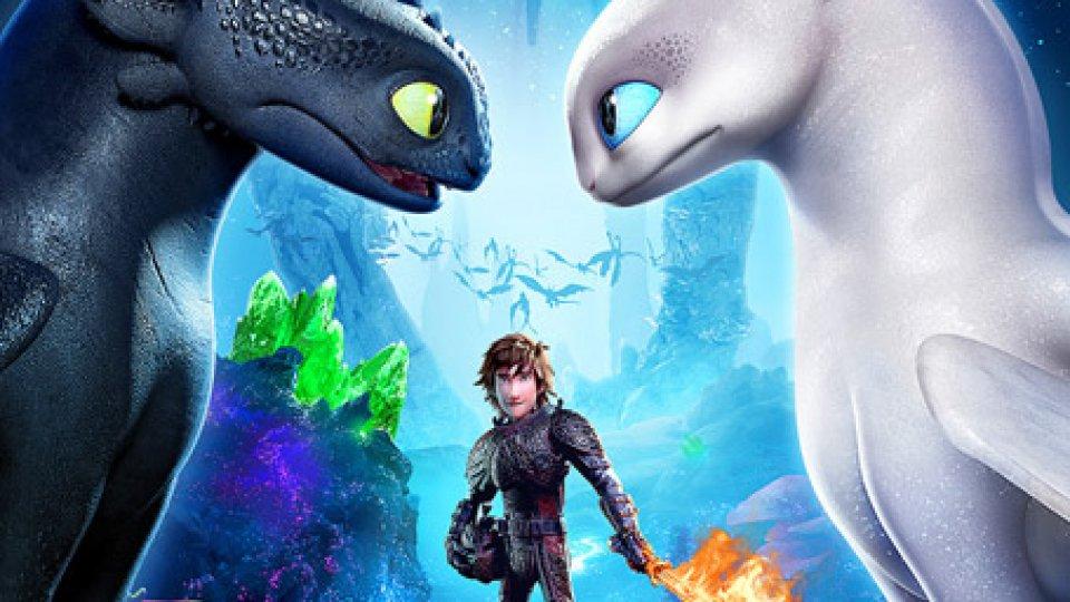 Dragon Trainer - Il mondo nascostoIl buon DRAGONE dei vichinghi al cine di Borgo