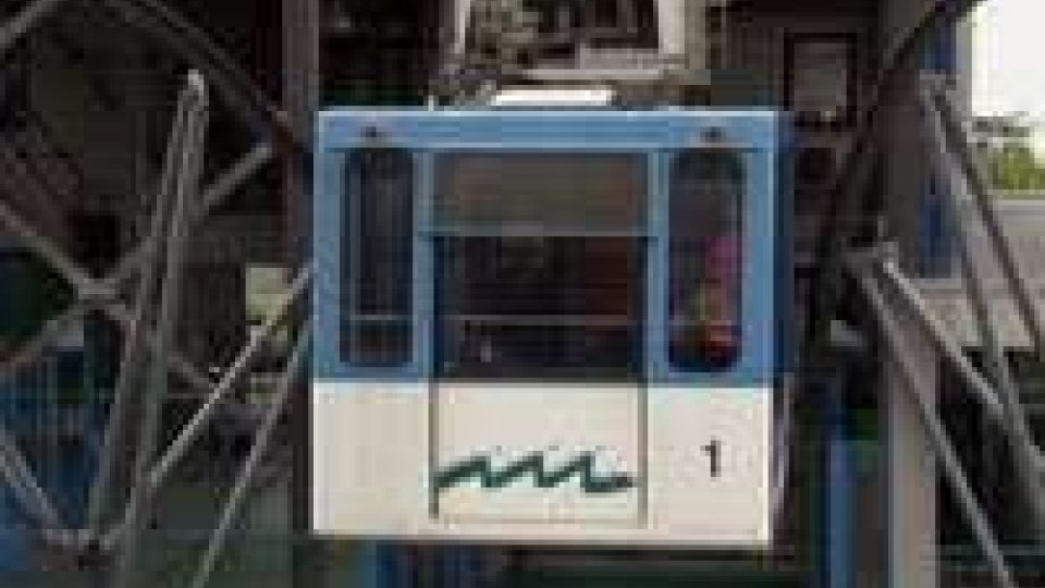 San Marino - Risolto il problema alla funivia