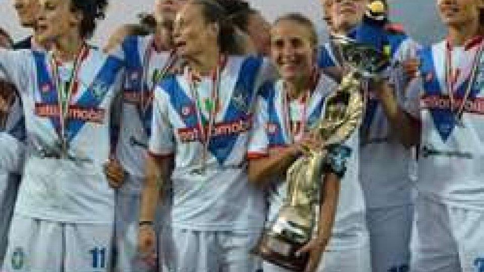 Il Brescia vince la SupercoppaFemminile: la Supercoppa è del Brescia